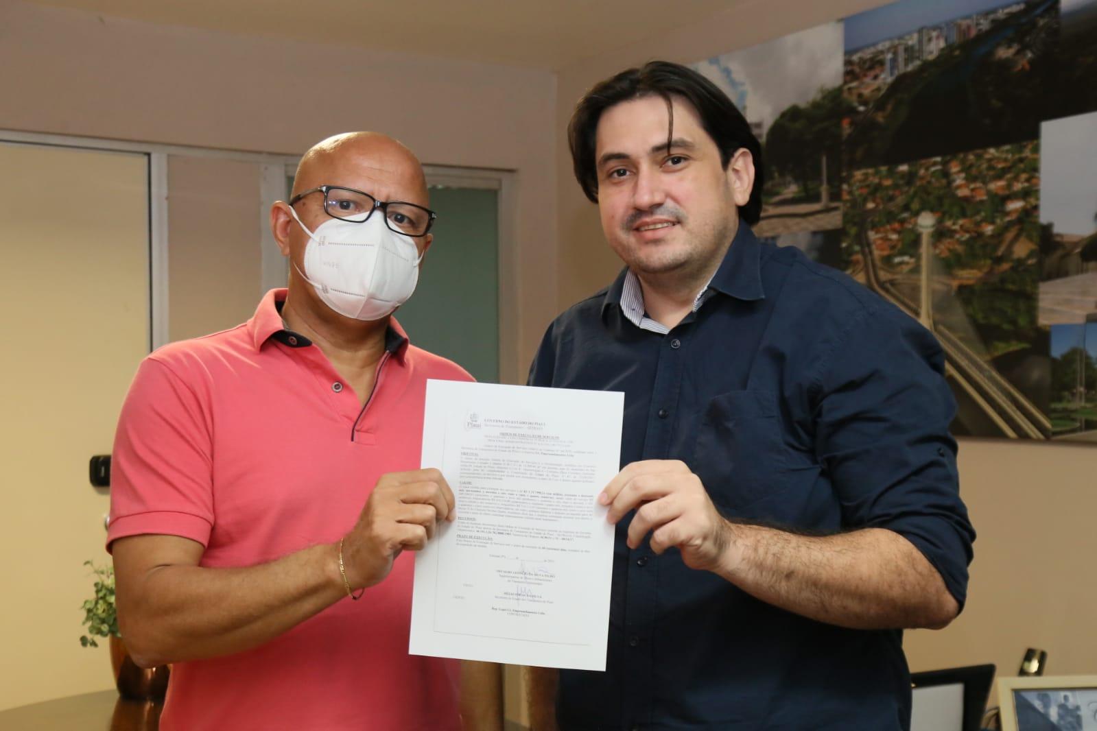Deputado Franzé consegue ordem de serviço para asfaltamento em São Julião